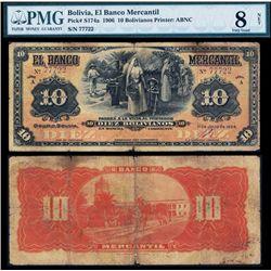 El Banco Mercantil, 1906 Issue.