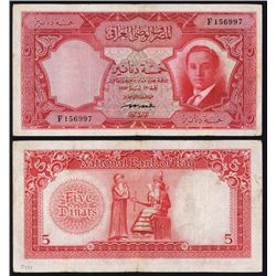 National Bank of Iraq, Law #42 of 1947 (1955 Issue).