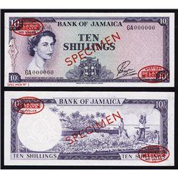 Bank of Jamaica, Specimen No.1, 1961 Issue.