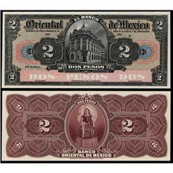 El Banco Oriental De Mexico.