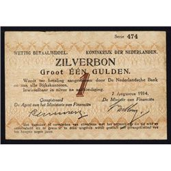 Zilverbonnen - Silver Notes, 1914 Issue.