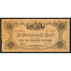 "De Nederlandsche Bank ""Old Style"" 1916 Issue."