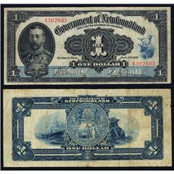 Government of Newfoundland, 1920 Treasury note Issue.