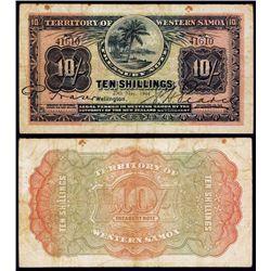 Territory of Samoa, 1920-22 Treasury Note Issue.
