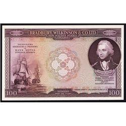 Bradbury, Wilkinson Co. Ltd. Advertising Banknote.