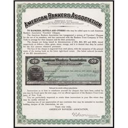 American Banker's Assoc., Bankers Trust & Various Letters of Credit Specimens.