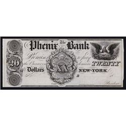 Phenix Bank, ca.1830's Obsolete Proof.