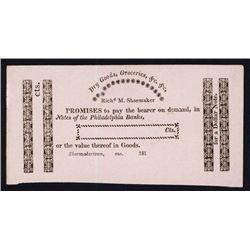 Richard M.Shoemaker Obsolete Scrip Note.