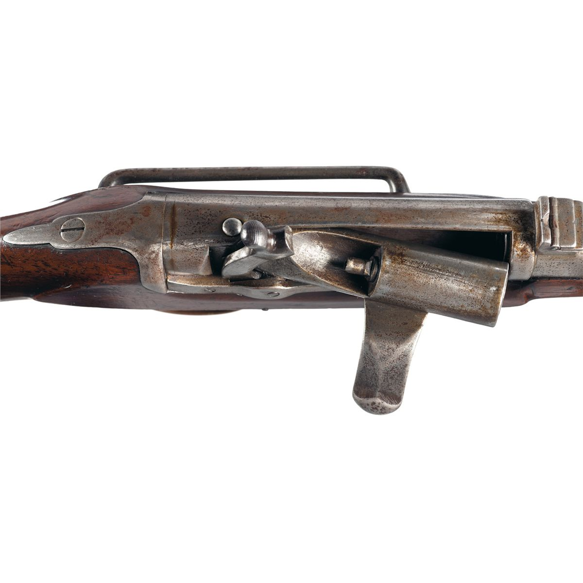 Rare Prototype Needham Patent Breech loading British Military Trials Carbine