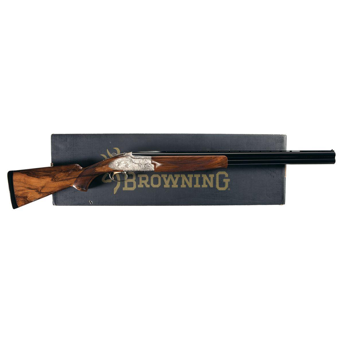 Engraved Browning Citori Privilege Shotgun with Original Box