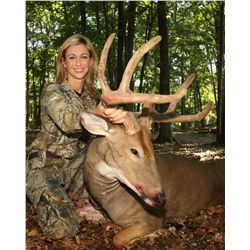 4-day Northeastern silver medal whitetail hunt for two hunters in Michigan - up to 145""
