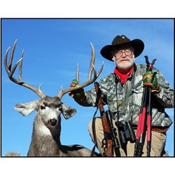 3-day Desert Mule Deer hunt for one hunter in Central New Mexico - includes trophy fees