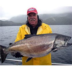 3-day/4-night fishing trip for two anglers in Alaska
