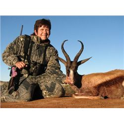 6-day plains game hunt for one hunter and two non-hunters in South Africa - includes trophy fee cred