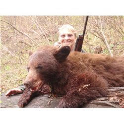 5-day color phase bear hunt for one hunter in Idaho