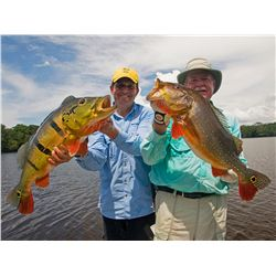 6 1/2-day Peacock Bass fishing trip for one angler on Brazil's Amazon