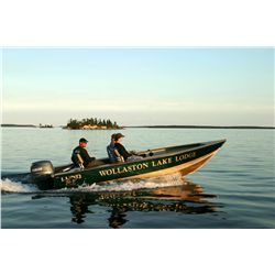 4-day Sask. pike, lake trout, grayling and walleye fishing trip for two anglers in Saskatoon, Canada