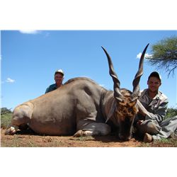 8-night/7-day plains game hunt for two hunters and two non-hunters in South Africa - includes trophy