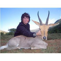 8-day plains game hunt for two hunters in the Limpopo Valley of South Africa - includes trophy fees