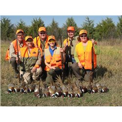 2-day pheasant hunt for three hunters in South Dakota