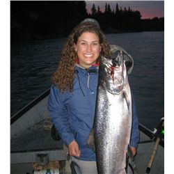 Enjoy a 5-night, 4-day stay on the world famous Kenai River on this freshwater & saltwater excursion