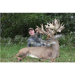 "$20,000 credit for buyer himself or for up to five (5) hunters total, buyer's choice during ""First W"