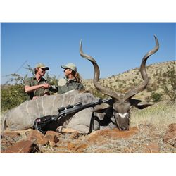 10-day safari package with Larry Weishuhn in Namibia - includes trophy fees, taxidermy credit, and m