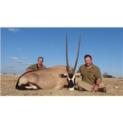 10-day plains game hunt and gourmet getaway safari for one hunter and one observer in South Africa -