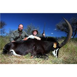 5-day plains game hunt for one hunter and one non-hunter in Namibia with trophy fee credit & origina