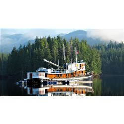 7-day/6-night fishing and cruising adventure for two anglers in British Columbia