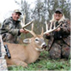 4-day whitetail buck hunt for two hunters in Ohio - includes trophy fees