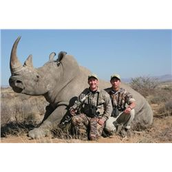 7-day Black Rhino darted hunt for one hunter and one non-hunter in the Eastern Cape of South Africa
