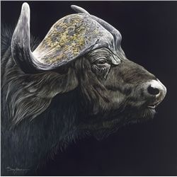Profile of a Cape Buffalo Original