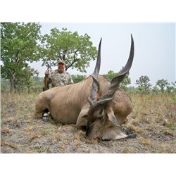 12-13 day Lord Derby Eland Hunt for one hunter in Cameroon