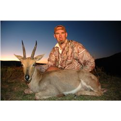 10-day plains game hunt for two hunters in South Africa - includes trophy fees