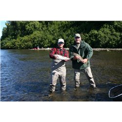 6-night/5-day fishing trip for one adult and one child 18 yrs or younger