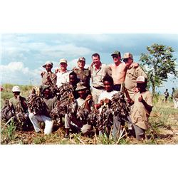 10-day wingshooting and Tiger fishing safari for two hunters/anglers in Zimbabwe
