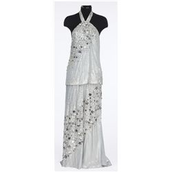 Julie Andrews silver and black sequined star outfit designed by Donald Brooks from Star!