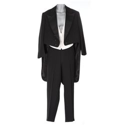 James Cagney black tux and vest designed by Anna Hill Johnstone from Ragtime
