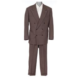 Al Pacino double-breasted suit and shirt designed by Milena Canonero from Godfather Part III
