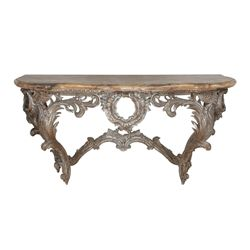 Pair of French console tables used in numerous MGM productions