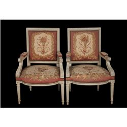 Suite of five French pieces of furniture used in numerous MGM productions