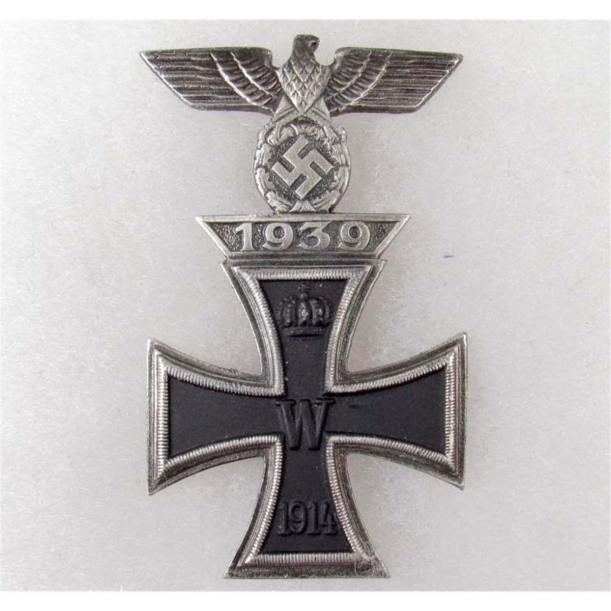 1914 IRON CROSS W/ 1939 SPANGE TO THE IRON CROSS - 1ST CLASS