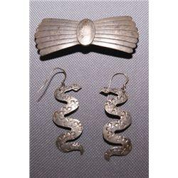 Navajo silver jewelry