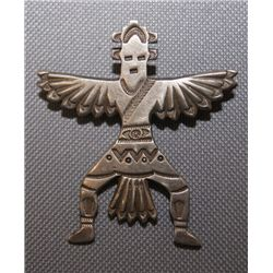 Zuni silver Pin
