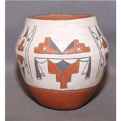 Santa Ana pottery jar