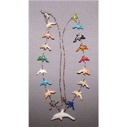 Zuni fetish necklace