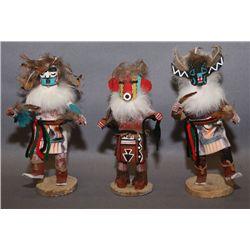 3 Navajo Kachinas