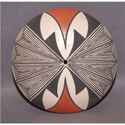 Zia/Acoma pottery seed jar
