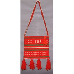 Navajo textile bag